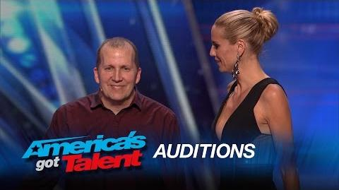 Heidi Klum Gets Sawed in Half - America's Got Talent 2015