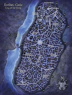 The Underdark map