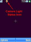 Motorola V3xx Camera Light Status Icon