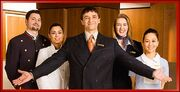 Concierge-staff