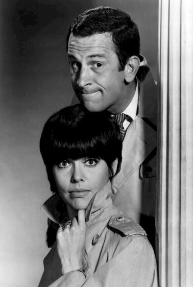 Don Adams Barbara Feldon Get Smart 1965