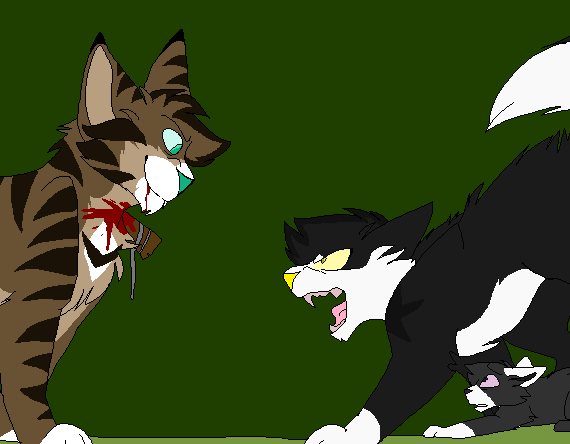 File:Sunstar vs. Hawkfrost for Lakepaw.png