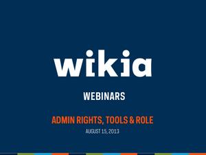 Admin Webinar August 2013 Slide01