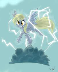 File:Derpy being electrifide.jpg