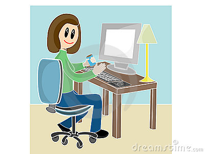 File:Woman-sitting-desk-front-computer-4585073.jpg