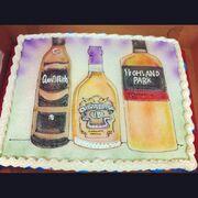 Whiskeypedia cake