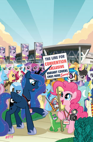 File:MLP IDW Friends Forever 7 Convention cover.jpeg