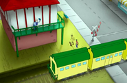 Railroad Crossing on Curious George Station Master 04
