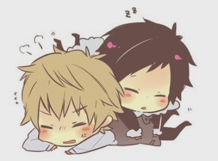 File:Cute shizuo and izaya.jpg