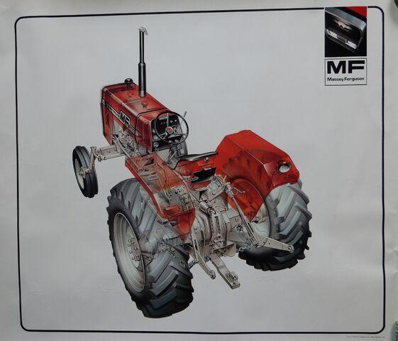 File:MF 265 tractor.jpg