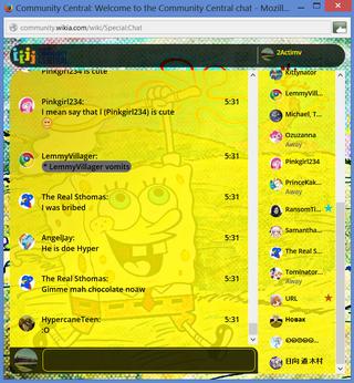 PrntScr Spongebob Squarepants Chat Skin