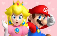Mario Peach Greatest Love of All