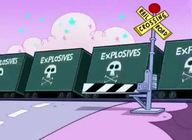 File:Railroad Crossing Signal from Odd Squad (Fairly Odd Parents).png
