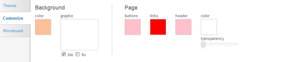 Blog Valentine Slider Theme Designer Snapshot Options