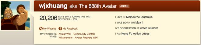 888th avatar profile