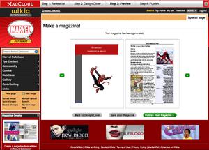 Magcloud screenshot