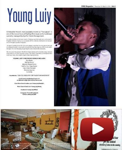 File:YoungLuiy In The Omg Magazine In Trinidad.jpg