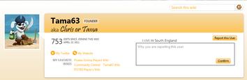 Report User 1