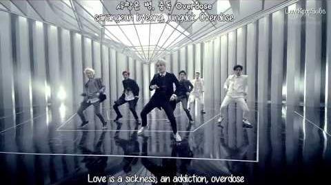 EXO-K - Overdose MV English subs + Romanization + Hangul HD
