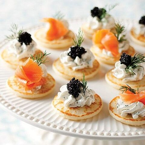 File:Salmon and caviar blinis.jpg