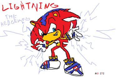 Lightning The Hedgehog 272