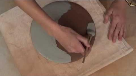 How to Print on Clay Using a Photocopied Pattern LAUREN KARLE