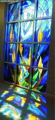 David Ascalon - Stained Glass Window