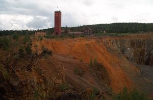 Kupferbergwerk Falun