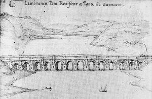 Ponte de Sacavém (Francisco de Holanda)