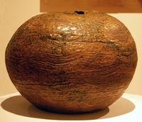 'Round, Round', 1967, hand-built stoneware by --Sally Fletcher-Murchison--, 1967, --Hawaii State Art Museum--.JPG