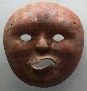 Maske Peru Vicús 1 Slg Ebnöther