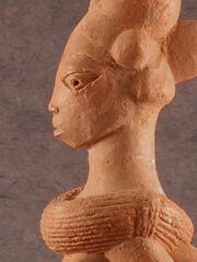 Nok terracotta figurine