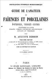 Guide de l'amateur de faïences et porcelaines portada II