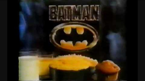 Batman 1989 Cereal Commercial