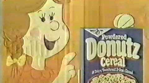 80's Ads- Powdered Donutz Cereal 1981