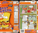 Bart Simpson Peanut Butter Chocolate Crunch