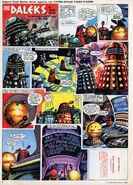 April 1965 TV21 Daleks comic page