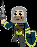 Non LEGO Knight