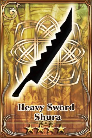 Heavy Sword Shura