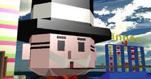 Mr Monopoly Head