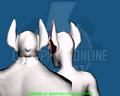 Vampire 02 Monstrous (Head Type) - Back