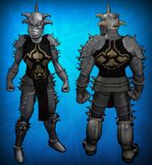 Demon Knight Costume Set Detail 3
