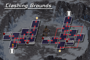 Map clashing grounds