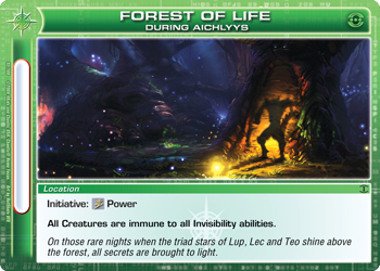 Forest of Life - DA card