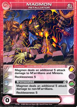 Magmon Retalliator