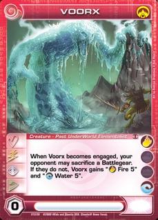 Voorx Card