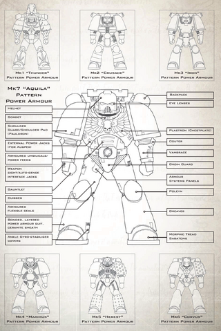 Power Armour Schematic
