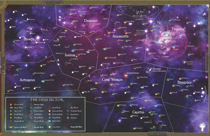 Sector Deus Map