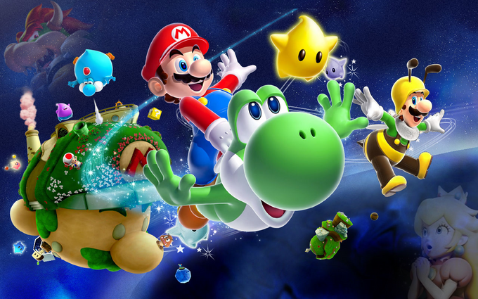 Super Mario Bros - Galaxy Theme