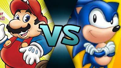 DiC Mario VS DiC Sonic (MM875)